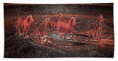 Horse Chestnut Pass Beach Towel
