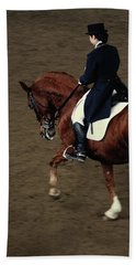 Horse Dressage Beach Sheet