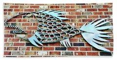 Fish Shoe  Beach Sheet