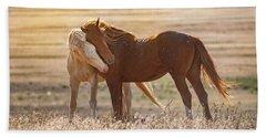 Horse Love Beach Sheet