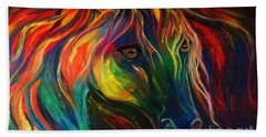 Horse Of Hope Beach Towel