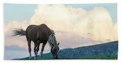 Horse - Rila Big Sky Beach Towel