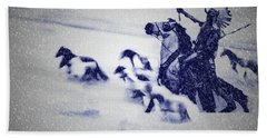 Horse Spirits Beach Towel