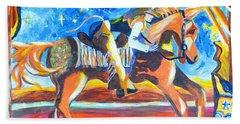 Horse Whisperer Beach Towel