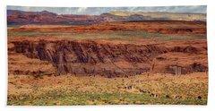 Beach Sheet featuring the photograph Horseshoe Bend Arizona #2 by Jennifer Rondinelli Reilly - Fine Art Photography