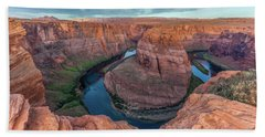 Horseshoe Bend Morning Splendor Beach Towel