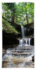Horseshoe Falls #6736 Beach Towel