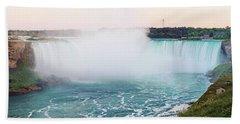 Horseshoe Falls At Dusk Beach Towel