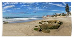 Beach Towel featuring the photograph Horseshoes by Peter Tellone