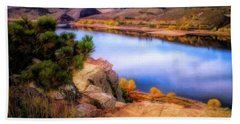 Horsetooth Lake Overlook Beach Towel