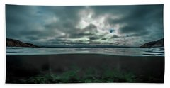 Beach Towel featuring the photograph Hostsaga - Autumn Tale by Nicklas Gustafsson
