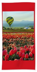 Hot Air Rising Beach Towel