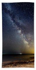 Hot August Night Milky Way Beach Sheet