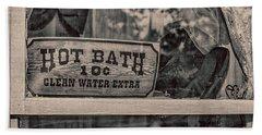 Hot Bath Beach Sheet