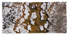 Hot Cascades Abstract Beach Towel
