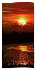 Beach Towel featuring the photograph Hot Hot Hot by Laura Ragland