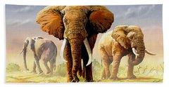 Hot Mara Afternoon Beach Towel