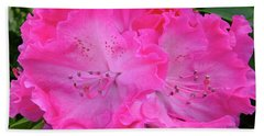 Hot Pink Rhoda Beach Towel