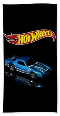 Hot Wheels 67 Pontiac Firebird 400-3 Beach Towel