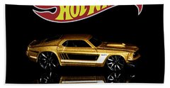Hot Wheels '69 Ford Mustang Beach Towel