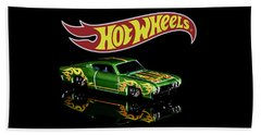 Hot Wheels '69 Ford Torino Talladega Beach Towel