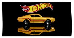 Hot Wheels '69 Mercury Cyclone Beach Towel