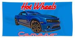 Hot Wheels Camaro Beach Sheet