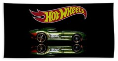 Hot Wheels Fast Felion Beach Towel