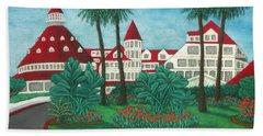 Hotel Del Coronado Beach Sheet