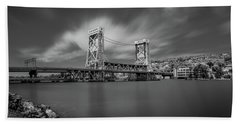 Houghton Portage Bridge Beach Towel