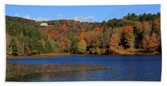 House In The Mountains Beach Towel