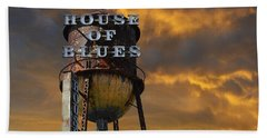 Beach Towel featuring the photograph House Of Blues  by Laura Fasulo