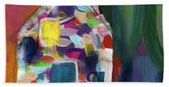 House Of Many Colors- Art By Linda Woods Beach Towel