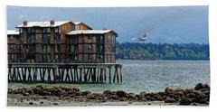House On Stilts Beach Towel