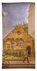 Oxford, England - House On Walton Street Beach Towel