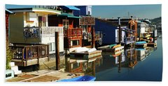 Houseboats Beach Sheet