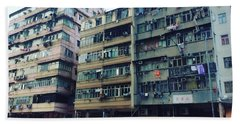 Houses Of Kowloon Beach Towel