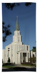 Houston Lds Temple Beach Towel