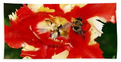 Beach Towel featuring the photograph How Sweet It Is by Patricia Griffin Brett
