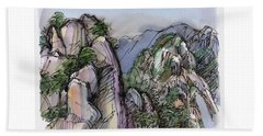 Huangshan, China Beach Towel