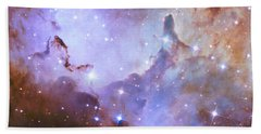 Beach Towel featuring the photograph Hubble Space Telescope Celebrates 25 Years Of Unveiling The Universe by Nasa