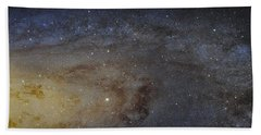 Beach Sheet featuring the photograph Hubble's High-definition Panoramic View Of The Andromeda Galaxy by Adam Romanowicz