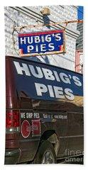 Hubig's Pies 2 New Orleans Beach Towel