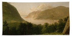 Hudson River Scene, 1857  Beach Towel