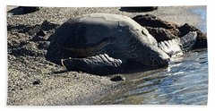 Huge Sea Turtle Beach Towel