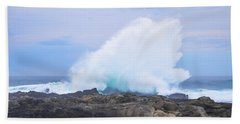 Huge Storms River Splash Beach Towel by Jeff at JSJ Photography