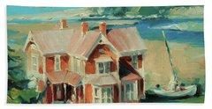 Hughes House Beach Towel