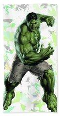 Hulk Splash Super Hero Series Beach Towel