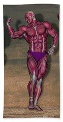 Human Anatomy 1 Beach Towel