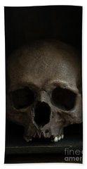 Human Skull Beach Sheet